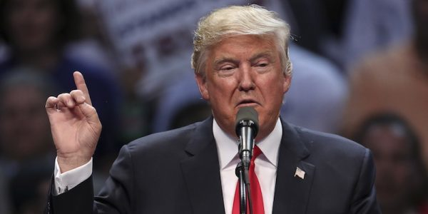 How Donald Trump Floated on Campaign Trail?